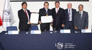 Presidente del Poder Judicial fue nombrado Profesor Honorario de la USIL