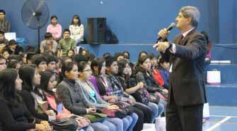 Raúl Diez Canseco destacó la importancia del programa Beca 18