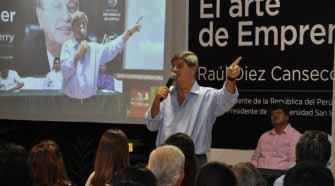 Raúl Diez Canseco fomenta el emprendimiento en la región San Martín