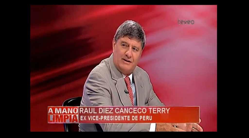 entrevista a Raul Diez Canseco en America TeVe