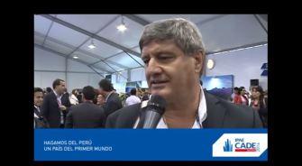 Declaraciones de Raúl Diez Canseco en CADE 2014