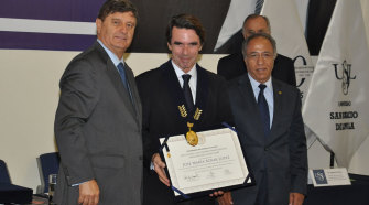 """Aznar: """"La libertad y la democracia van de la mano, conforman un vínculo indisoluble"""""""