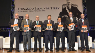"""Presentación del Libro """"Fernando Belaunde Terry Visionario de la Peruanidad"""""""