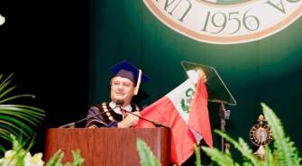 Raúl Diez Canseco, primer peruano en recibir distinción de la USF