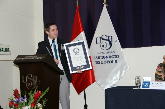 Entrega de Premio Record Guinness 2