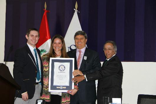 Entrega de Premio Record Guinness 3