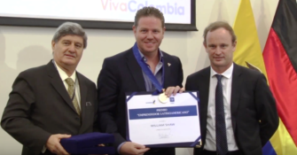 USIL distinguió como Emprendedor Latinoamericano del Año a William Shaw