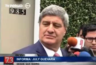 Raúl Diez Canseco expresó su respaldo a PPK