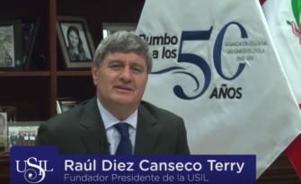 """Raúl Diez Canseco: """"Cada etapa de nuestra vida significó muchísimo esfuerzo, fe y dedicación"""""""