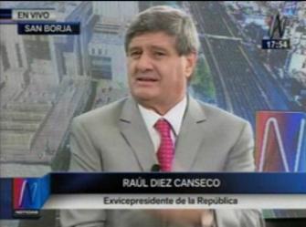 Entrevista a Raúl Diez Canseco en Canal N