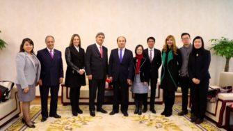 Raúl Diez Canseco preside delegación de USIL que visita universidades de Asia