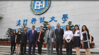 Delegación de la USIL visita universidades de China y Japón