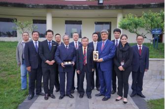 Delegación USIL visitó la Sichuan Tourism University en China
