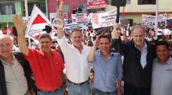 Jorge Muñoz es candidato a la alcaldía de Lima