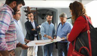 Visita académica y espiritual de Raúl Diez Canseco a España y Bosnia