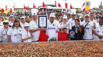 USIL y Municipalidad Provincial de Tacna lograron un nuevo récord Guinness para el Perú